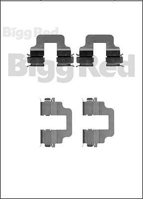MECHANICAL H//BRAKE 2006- BPF1712F FORD KUGA REAR BRAKE PAD FITTING KIT