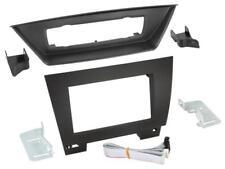für BMW X1 E84  Auto Radio Blende Montage Einbau Rahmen Doppel-DIN 2-DIN schwarz