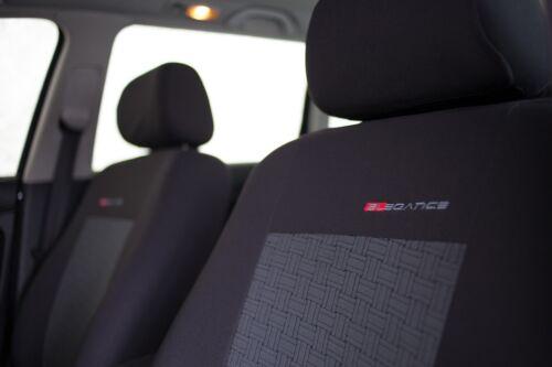 Sitzbezüge Sitzbezug Schonbezüge für Toyota Yaris Vordersitze Elegance P1