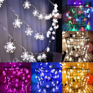 50LED-5M-String-Fairy-Lights-Xmas-Tree-Christmas-Party-Home-Decoration