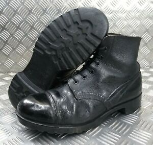 Genuine Vintage 58 Pattern British Army DMS Ankle Parade Boots Smooth Toe 9M