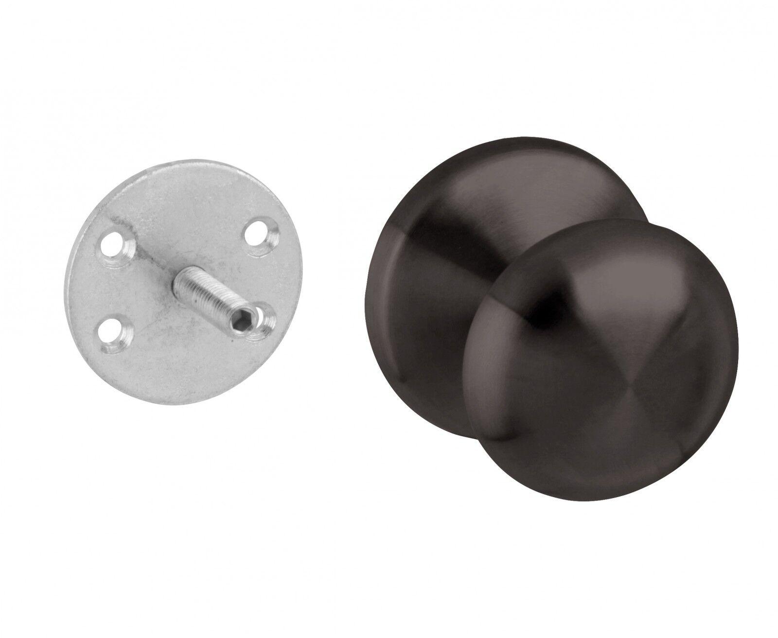 LILZ Edelstahl Türknauf in schwarz im Retro-Stil Retro-Stil Retro-Stil | Hohe Qualität  984b30