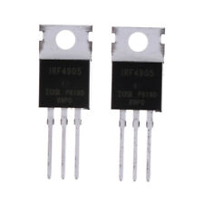 10pcs Irf4905 Irf4905pbf Power Mosfet 74a 55v P Channel Ir To Zp Nj