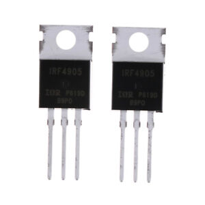 10pcs-IRF4905-IRF4905PBF-Power-MOSFET-74A-55V-P-Channel-IR-TO-22-XBUK