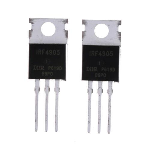 10x IRF4905 IRF4905PBF Power MOSFET 74A 55 V P-kanal 0U