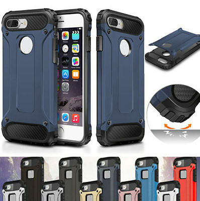 Heavy Duty Shockproof Hybrid Armor Tough Hard Protective Case Cover For iPhone