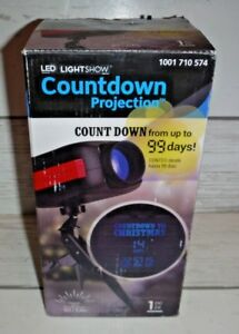 Until Christmas 99 Days Till Christmas.Details About New Gemmy Led Lightshow Countdown To Christmas Projection 99 Days
