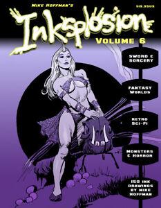 INKSPLOSION-6-Fantasy-amp-Sci-Fi-Ink-Art-by-Mike-Hoffman-LAST-VOLUME