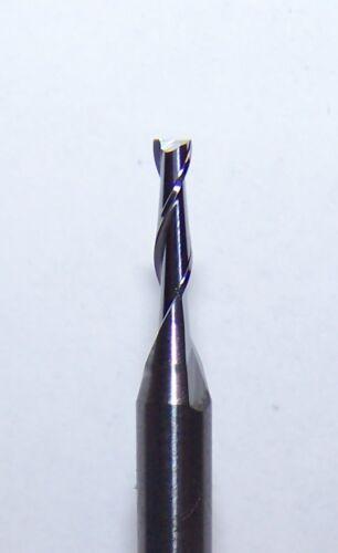 "NEW .0500/"" 2 FLUTE CARBIDE ENDMILLS 1.27mm 5"