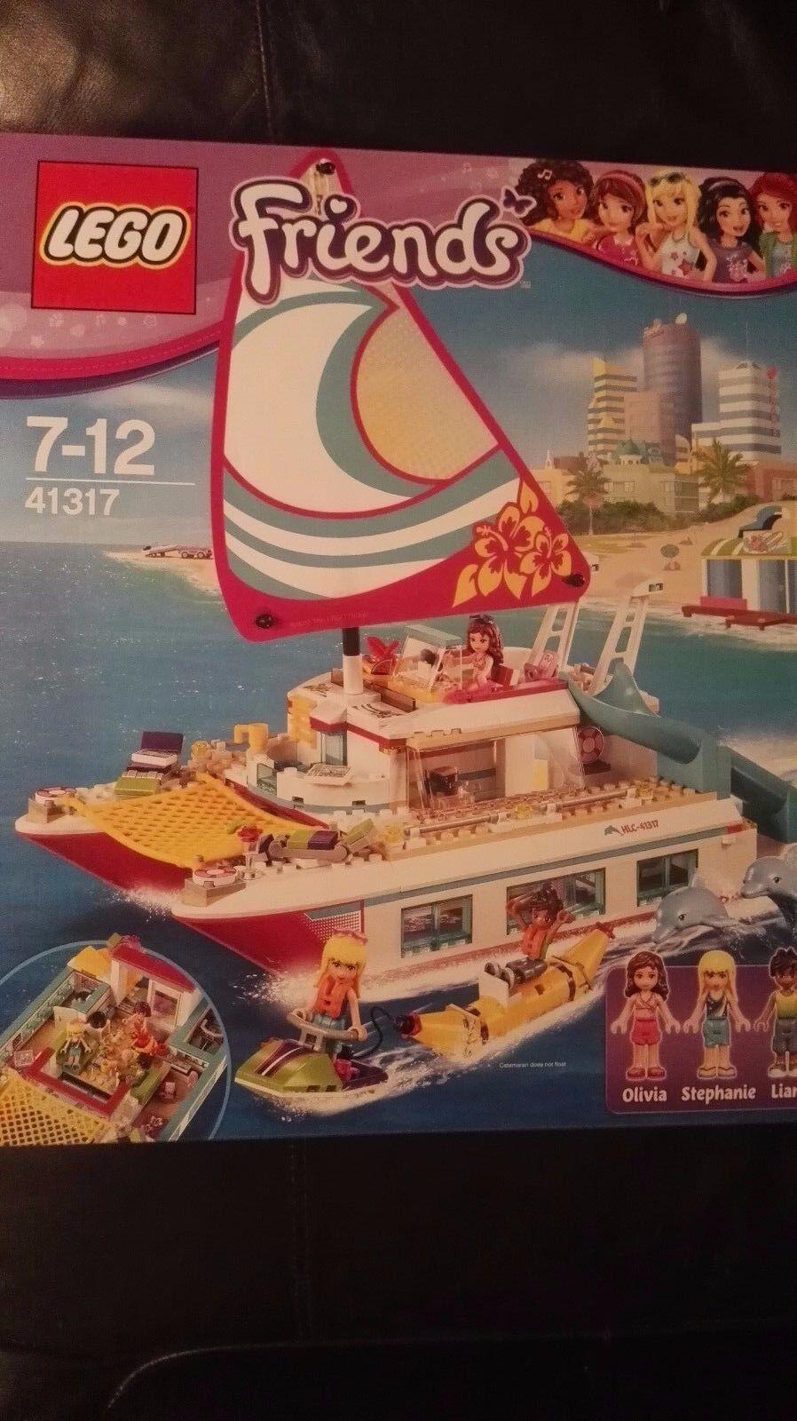LEGO FRIENDS 41317 IL CATAMARANO NUOVO IMBALLATO