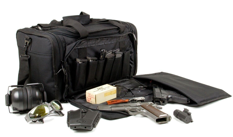 Deluxe Tactical Bag -RANGE BAG w  Personalized Monogram GUN BAG