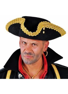 Steampunk Rokoko Piratenhut Hut Piraten Dreispitz Barock Kostüm Baron Gothic qaazTpwx