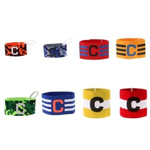 Adult Senior /& Junior Kids Sizes Captains Armband for Football Rugby Hockey