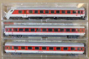 FLEISCHMANN-5100-5101-5103K-Rastrillo-X3-DB-IC-Intercity-Control-2-1st-Coach-NG