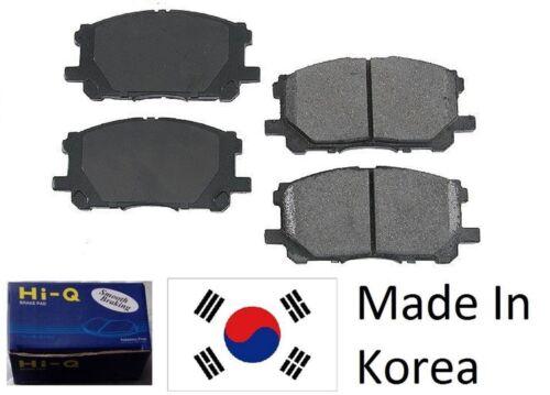 Front Ceramic Brake Pad Set For Nissan Leaf 2011-2014