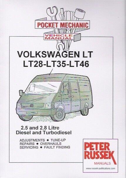 1997 2002 volkswagen vw lt28 lt35 lt46 4 cyl diesel service repair rh ebay com Craftsman Garage Door Opener Manual Haynes Workshop Manuals