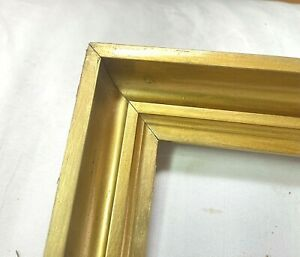 "ANTIQUE FITS 8"" x 10"" FINE ART VICTORIAN GOLD GILT GESSO PICTURE FRAME"