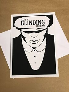 Image Is Loading Peaky Blinders BLINDING BIRTHDAY Card BY ORDER OF