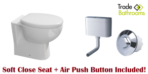 Grohe-Adagio-Concealed-Hidden-Cistern-Air-Button-Back-To-Wall-Toilet-Soft-Close