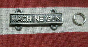 US-ARMY-MACHINE-GUN-BAR-BADGE-QUALIFICATION-BADGE-W-2-RINGS-HM-IIC-GI-VIET-ERA