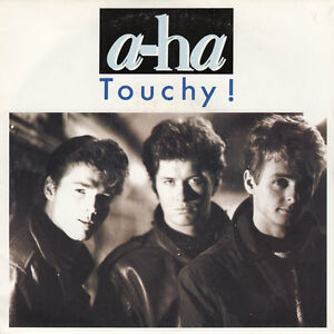 a-ha-7-034-Touchy-France-VG-EX