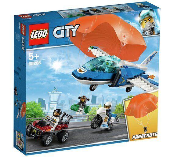 LEGO City Police Parachute Arrest Building Set - 60208 Best Game For Kids