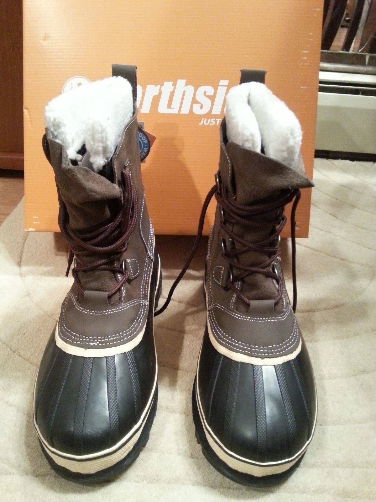 Northside Men's Back Country Waterproof Pack Winter Snow Boot Size 9