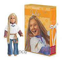 American Girl Book Julie Boxed Set & Mini Doll With Board Game Julie's 6 Books