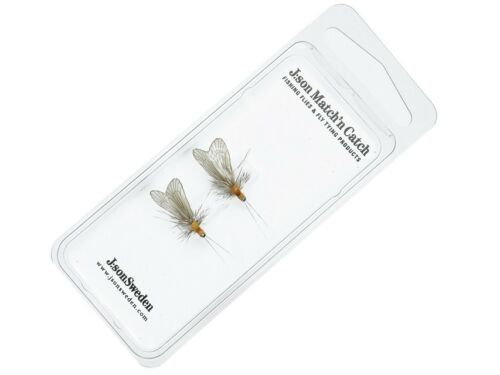 Mayfly Caddis Stonefly Insects J:son Hatch Pack realistic flies 2-pack