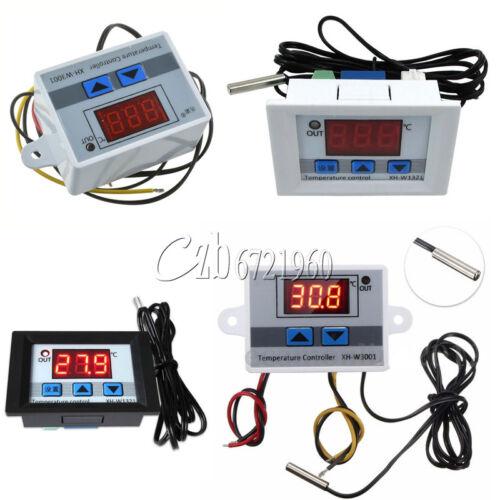 12V 24V 220V Digital LED Temperature Controller Thermostat Control Switch Probe
