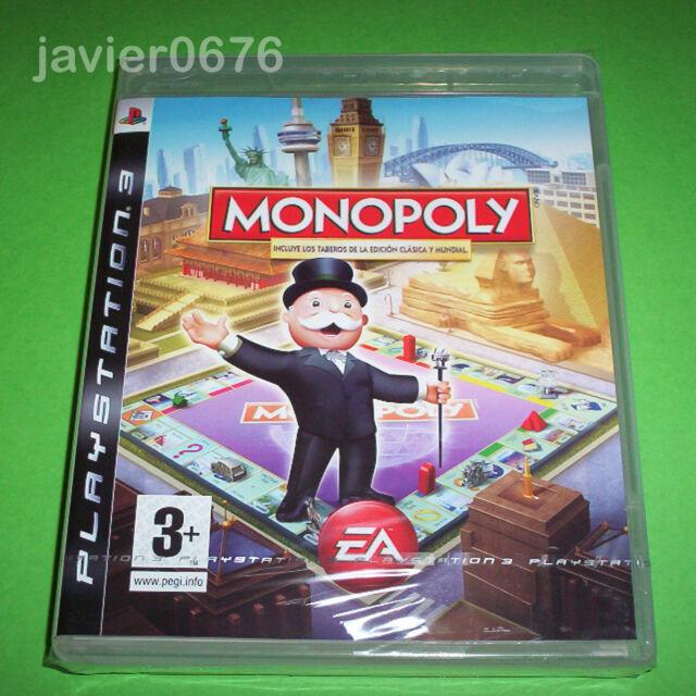 MONOPOLY NUEVO PRECINTADO PAL ESPAÑA PLAYSTATION 3 PS3