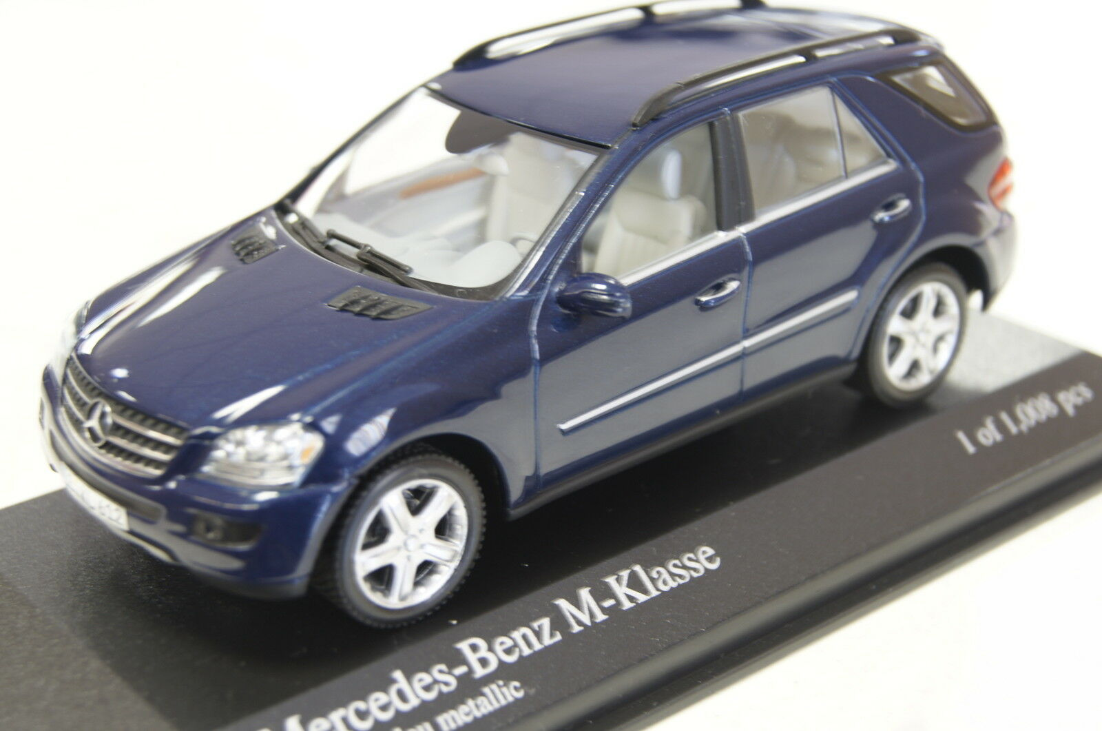 Mercedes m-klasse 2005 blau 1 43 minichamps neu & ovp
