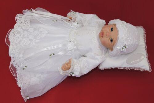 Nr.0le23 Taufkleid Festkleid Taufgewand Kleid Taufe Hochzeit  Babykleid