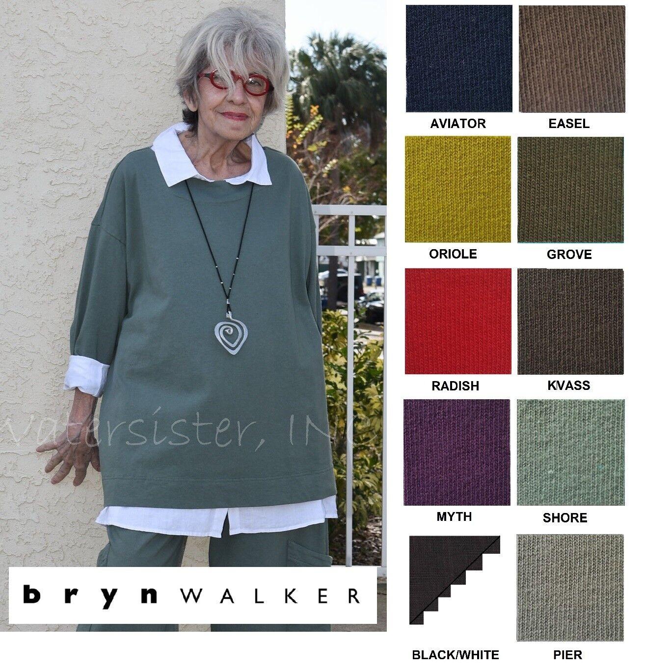 PACIFICOTTON Bryn Walker Pacific Cotton RESORT SHIRT Boxy Top  1X 2X 3X SPR 2018