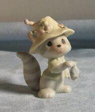 Enesco Precious Moments Figurine  Raccoon Fisherman #BC861 Great Condition!