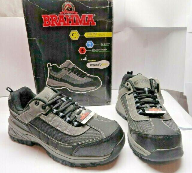 Mens BRAHMA Steel Toe Tennis Shoes Size