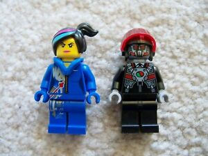 LEGO-Movie-Rare-Space-Wyldstyle-amp-Robo-Pilot-Minifigs-From-70816-Excellent