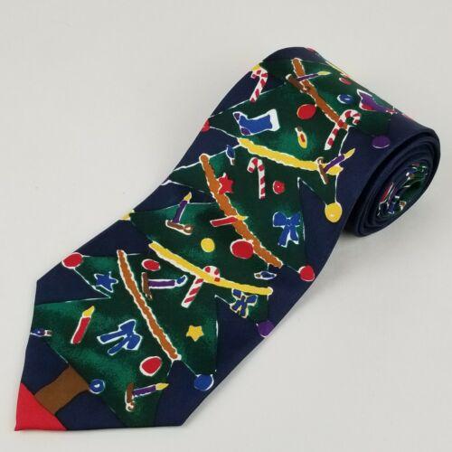 Vintage Snowman Necktie Save the Children Imported Silk USA Frosty the Snow Man Tie