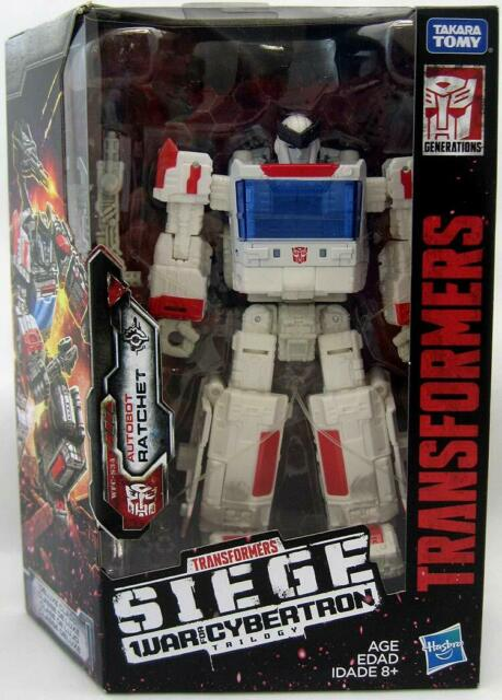 NEW Hasbro Transformers Generations War for Cybertron Siege Deluxe Class Ratchet
