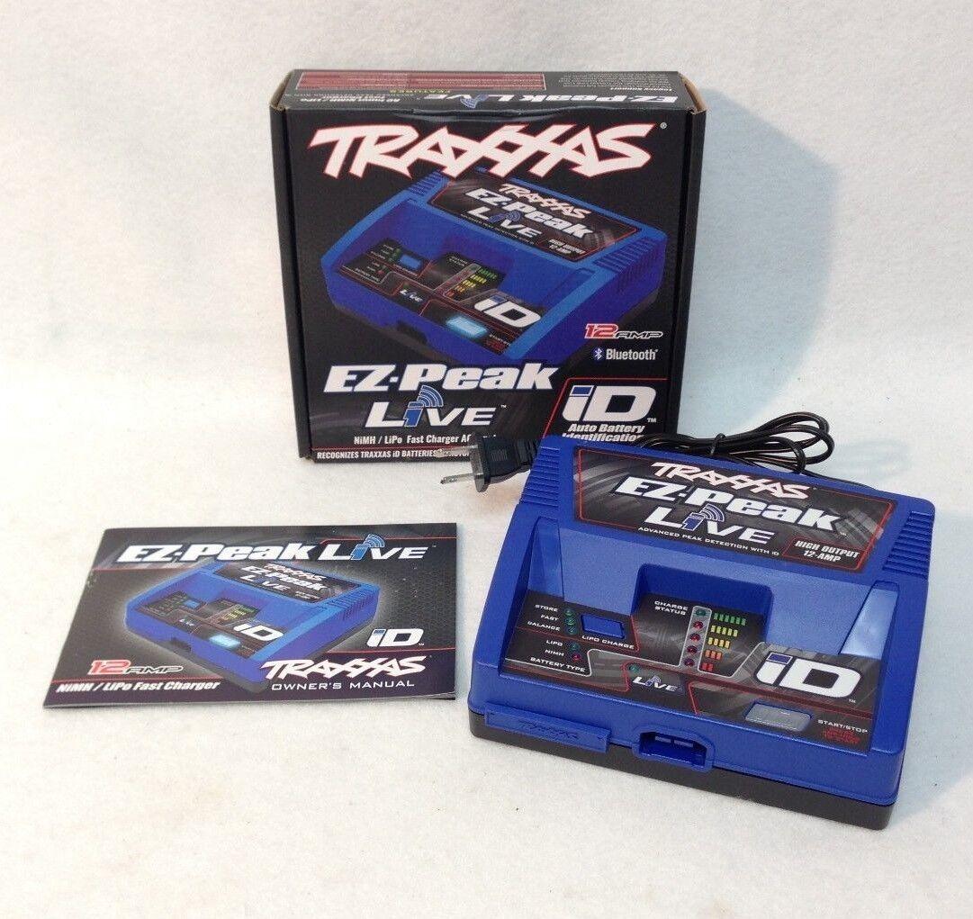 Traxxas 2971 EZ-Peak Live 12 AMP blutooth  Fast Battery Charger for X-Maxx XMAXX  spedizione gratuita in tutto il mondo