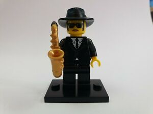 LEGO-MINIFIGURES-SERIES-11-Saxophone-Player-Gratuite-au-Royaume-Uni-Affranchissement-Version
