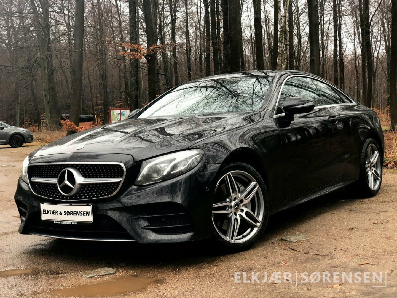 Mercedes E200 2,0 Coupé aut. 4-M 2d - 649.990 kr.