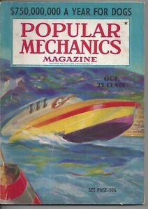 Magazine Popular Mechanics October 1937 Dog Breeding Telescope Palomar