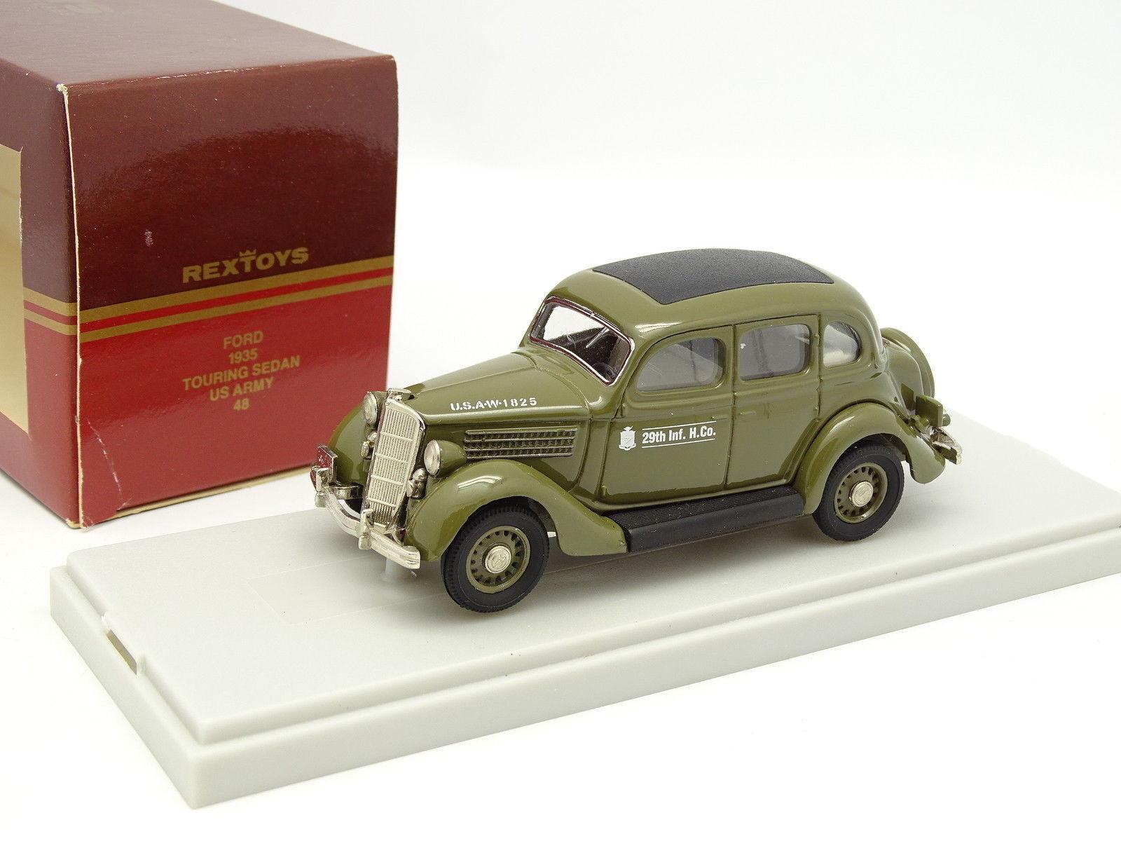 Rextoys 1 43 - Ford 1935 touring US Armee Militär
