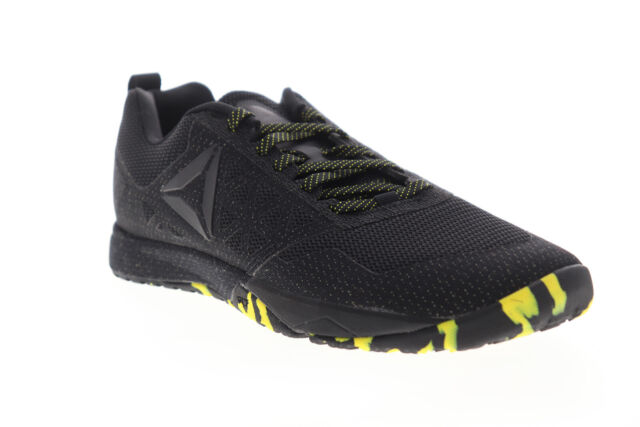 Reebok Crossfit Nano 6.0 Covert Womens Black Athletic Cross Training Shoes 9