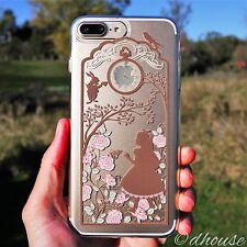 MADE IN JAPAN Soft Clear TPU Case Alice in Wonderland for iPhone 7 Plus