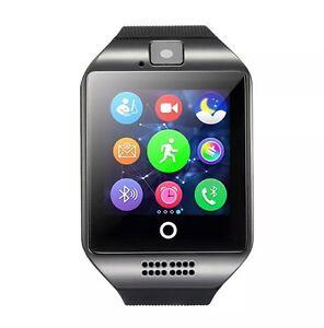 NUOVO-Q18-touch-screen-Bluetooth-Smart-Orologio-da-polso-per-Android-amp-IOS-Nero