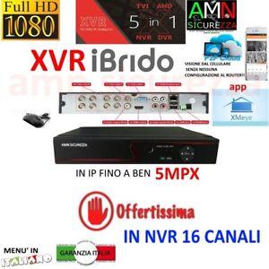 DVR-NVR-IBRIDO-NVR-HVR-AHD-TVI-CVI-8-CH-CANALI-FULL-HD-IP-CLOUD-3G-WIFI-5mpx