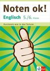 Klett Noten ok! Englisch 5./6. Klasse von Alexander P. Saccaro (2015, Taschenbuch)