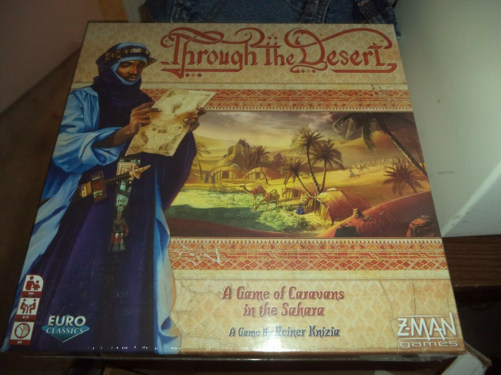 Through the Desert - Great Board Game Z-Man Games New